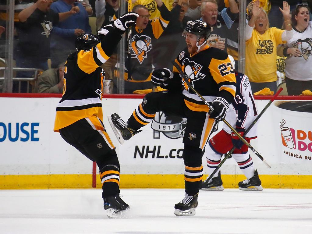 Die Pittsburgh Penguins stehen in der zweiten Playoff-Runde