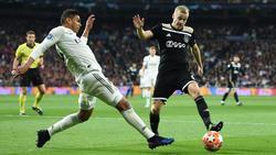 Donny van de Beek dio una clase magistral en el Bernabéu.