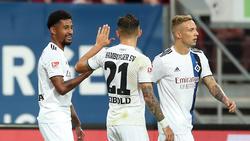 Der Hamburger SV zerlegte den 1. FC Nürnberg am Montagabend nach allen Regeln der Kunst