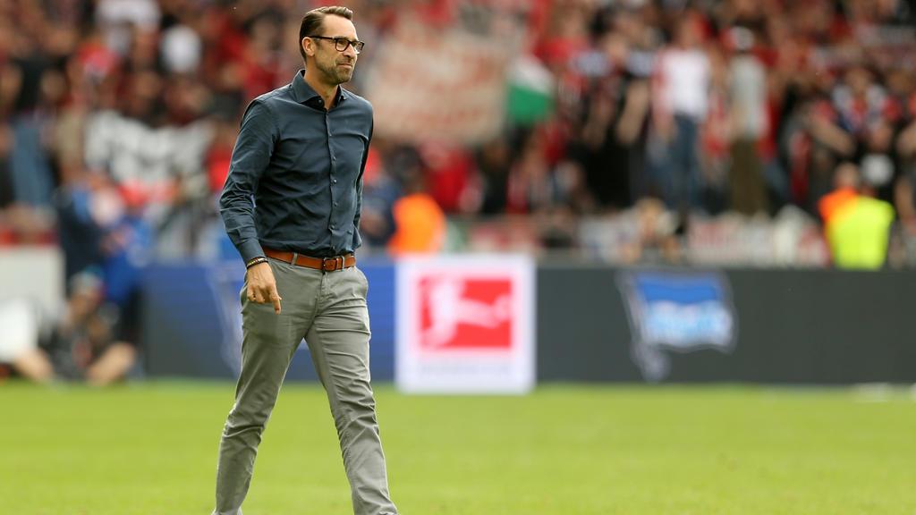 Michael Preetz hat mit der Hertha Großes vor