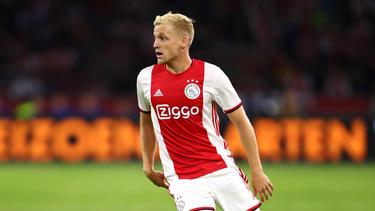 Der BVB wollte Donny van de Beek offenbar nicht