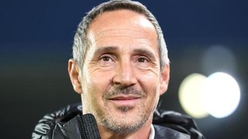 Adi Hütter will am Donnerstagabend unbedingt gewinnen