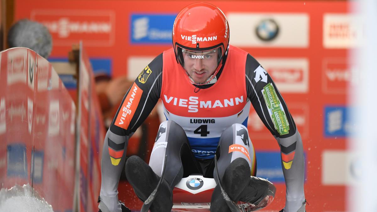 Johannes Ludwig war im Eiskanal am schnellsten