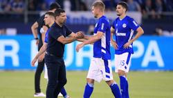 Der FC Schalke startete mit einer Niederlage gegen den HSV in die Saison
