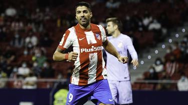Seit 2020 für Atlético Madrid auf Torejagd: Luis Suárez