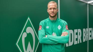 Kevin Vogt soll Werder aus dem Tabellenkeller führen