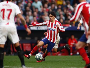Joao Félix anotó ante el Sevilla FC.