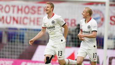 Martin Hinteregger traf gegen den FC Bayern drei Mal ins Schwarze