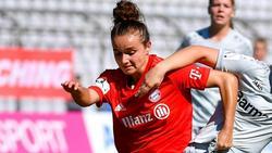 Nationalspielerin Lina Magull setzt den Schlusspunkt