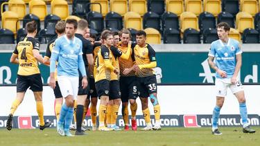 1860 München unterlag am Sonntag bei Dynamo Dresden