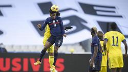 Kingsley Coman traf gegen Schweden