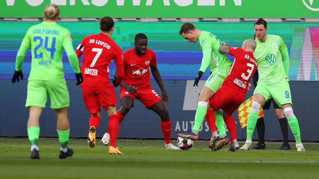 Kein Sieger im Duell zwischen Wolfsburg und Leipzig