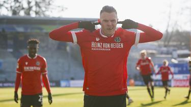Matchwinner in Darmstadt: Marvin Ducksch