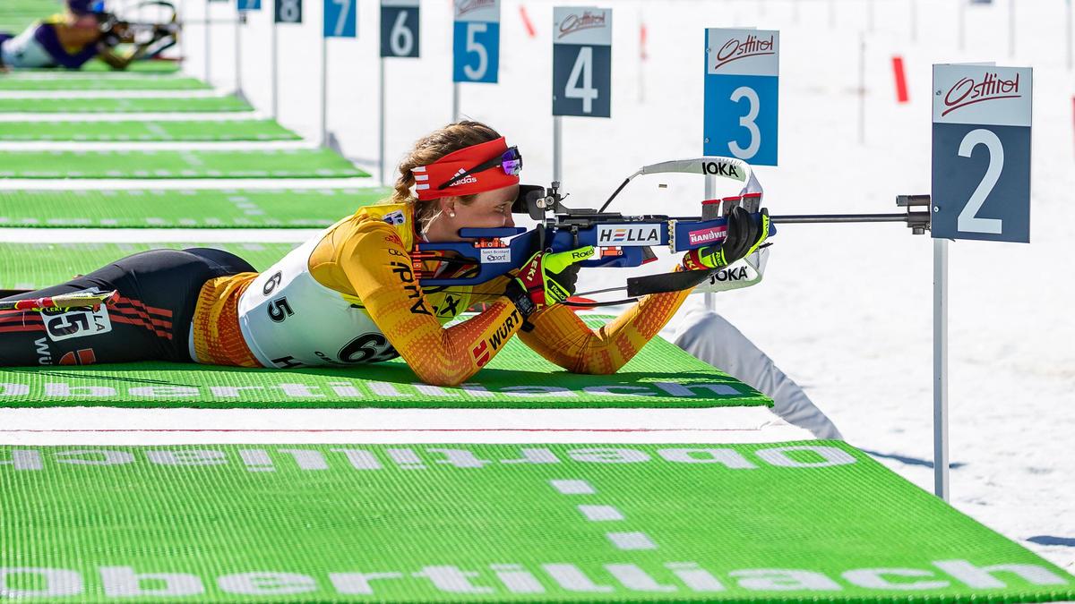 Der deutsche Biathlon-Nachwuchs hatte bei dem WM kein ruhiges Händchen