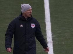 Gerhard Struber verlor beim MLS-Auftakt (Bild vom November)