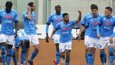 Der SSC Neapel setzte sich in Florenz durch