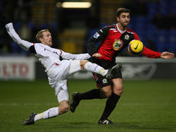 Christian Wilhelmsson im Trikot der Bolton Wanderers