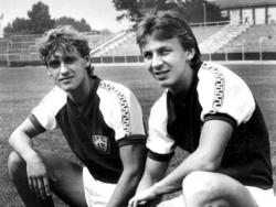 Thomas Doll und Andreas Thom beim BFC Dynamo