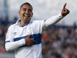 Jeisson Vargas feiert einen Treffer für Universidad Católica