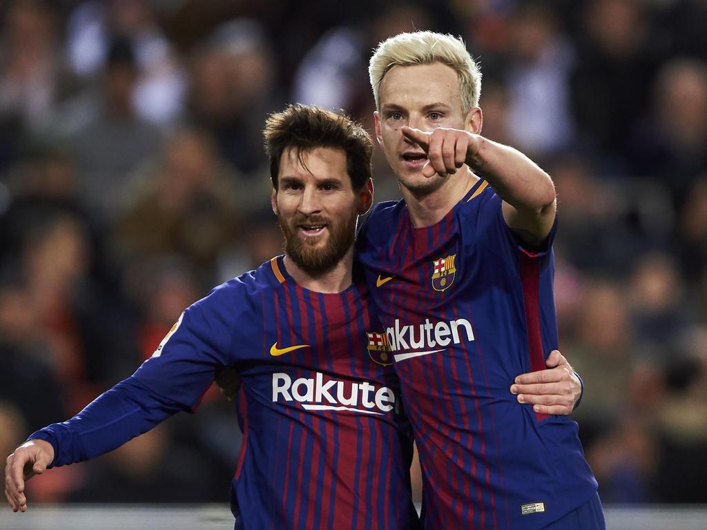 Ivan Rakitic (re.) spielt erneut eine starke Saison in Barcelona
