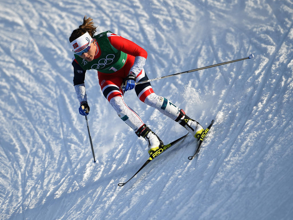 Maiken Caspersen Falla siegte im ersten Weltcup-Sprint nach Olympia