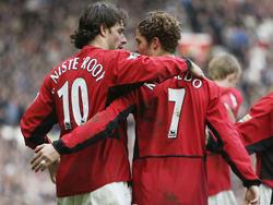 Spielten einst in Manchester zusammen: Ruud van Nistelrooy und Cristiano Ronaldo