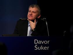 Kroatiens Verbandspräsident Davor Suker wurde bei der WM 98 Torschützenkönig