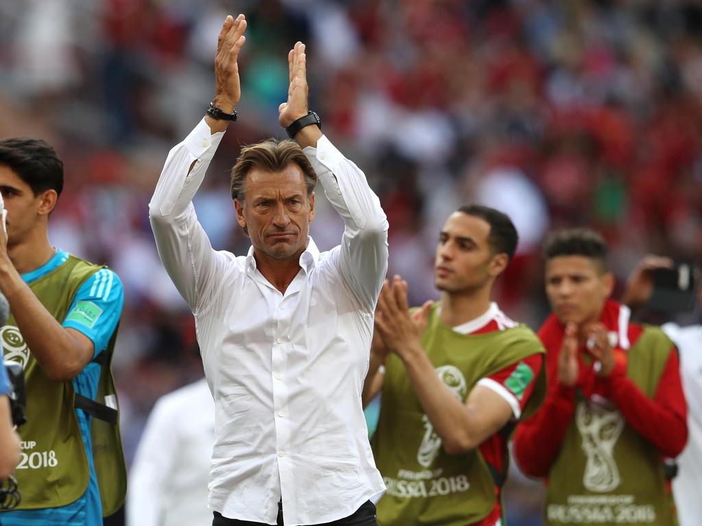 Marokko-Coach Hervé Renard ist nach dem WM-Aus trotzdem stolz auf sein Team