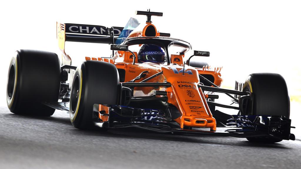 Fernando Alonso darf in seinem letzten Suzuka-Rennen leiden