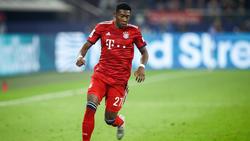 David Alaba vom FC Bayern soll das Interesse von Real Madrid auf sich gezogen haben