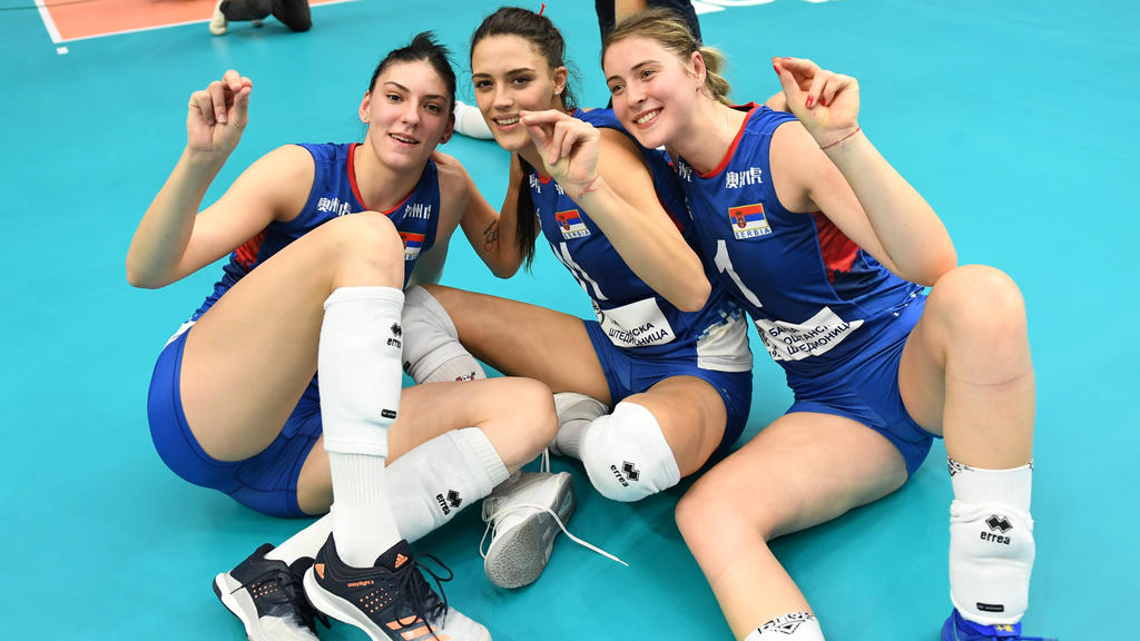 Serbien kämpft um den WM-Titel