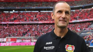 Baut auf Leon Bailey: Trainer Heiko Herrlich von Bayer Leverkusen