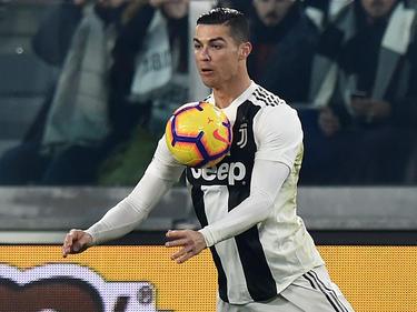 Cristiano Ronaldo hizo la igualada en la recta final de cabeza. (Foto: Getty)