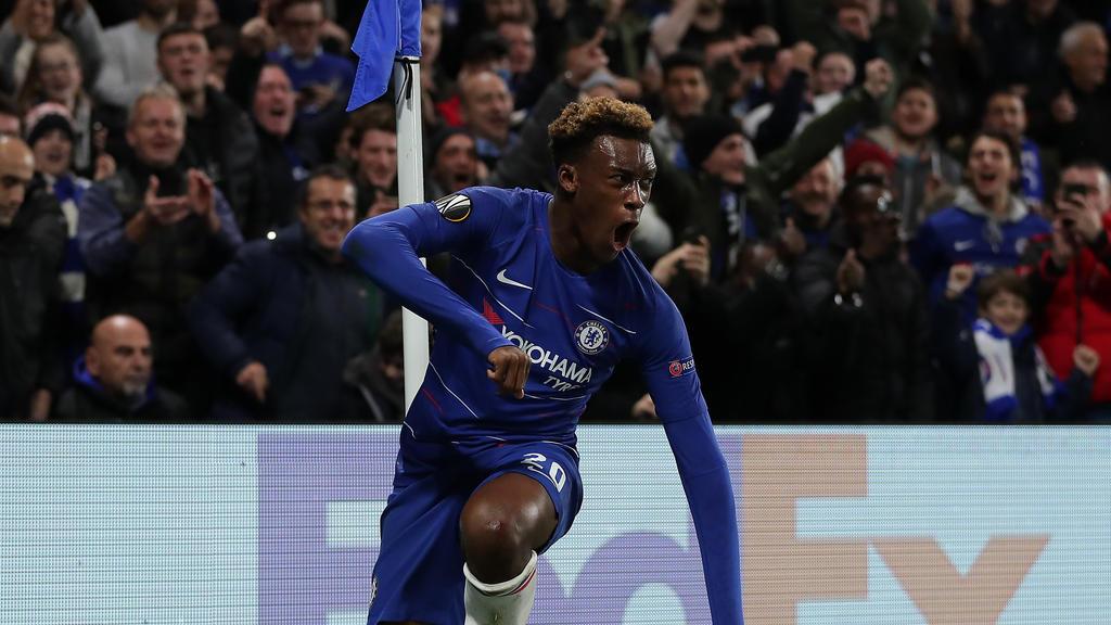 Callum Hodson-Odoi erzielte in der Europa League seinen ersten Profi-Treffer