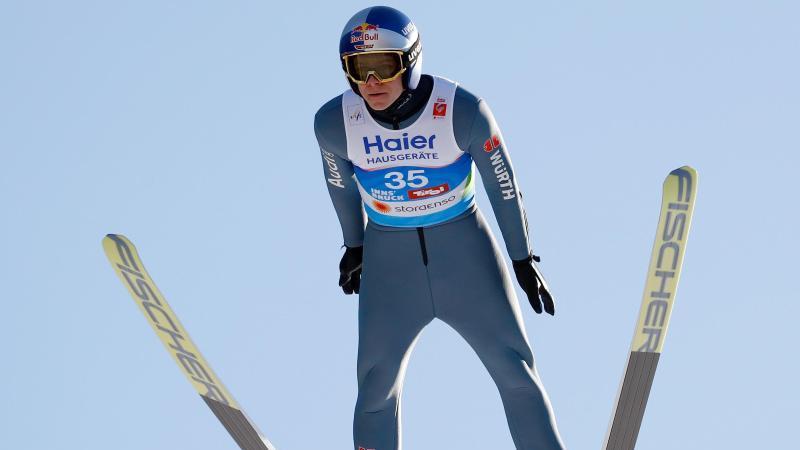 Derzeit nur in einer WM-Nebenrolle aktiv: Olympiasieger Andreas Wellinger