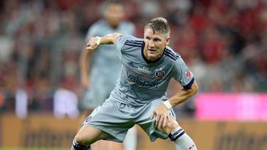 Bastian Schweinsteiger hat mit Chicago Unentschieden gespielt