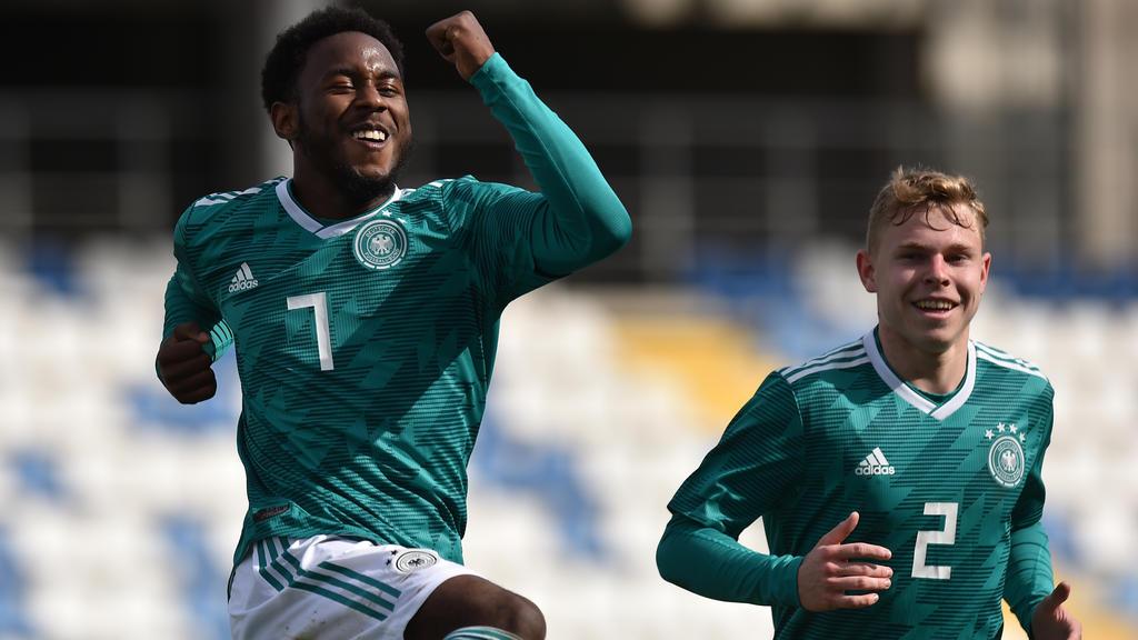 John Yeboah führte die DFB-Junioren zum Sieg