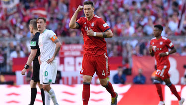 Niklas Süle traf zum entscheidenden 1:0 für den FC Bayern