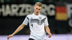 Matthias Ginter fehlte beim Training des DFB-Teams