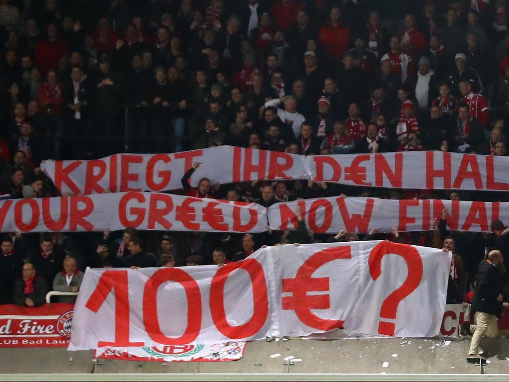 Der Protest der Bayern-Fans wird teuer bestraft