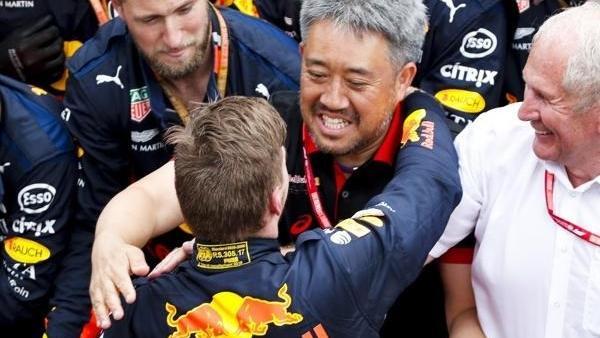 Masashi Yamamoto und Max Verstappen feierten in diesem Jahr bereits zwei Siege