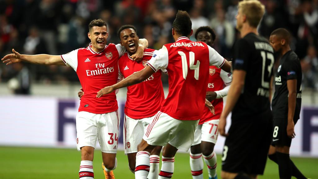 Die Gunners entführen drei Punkte aus Frankfurt