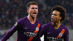 Aymeric Laporte und Leroy Sané fehlen Manchester City aktuell verletzt