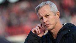 """Sieht Profi-Fußballer auf der """"Sonnenseite des Lebens"""": Der Nürnberger Trainer Jens Keller"""