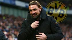Beim BVB als Nachfolger für Lucien Favre gehandelt: Norwich-Coach Daniel Farke