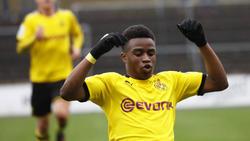Trifft für die U19 des BVB weiter nach Belieben: Youssoufa Moukoko