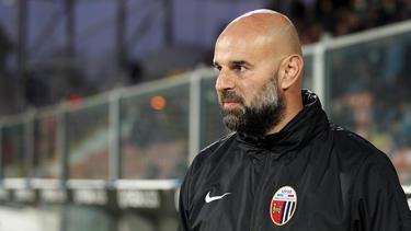 Soll eine Reduzierung seines Gehalts abgelehnt haben: Trainer Roberto Stellone