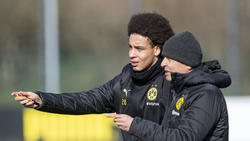 Axel Witsel und Lucien Favre wollen mit dem BVB Titel gewinnen