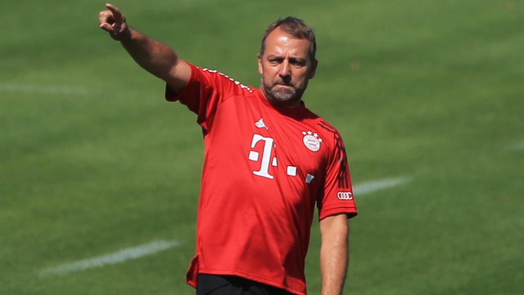 Hansi Flick bereitet seine Bayern auf die Champions League vor