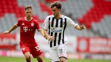 Soll zu Benfica Lissabon wechseln: Luca Waldschmidt. Foto: Uli Deck/dpa